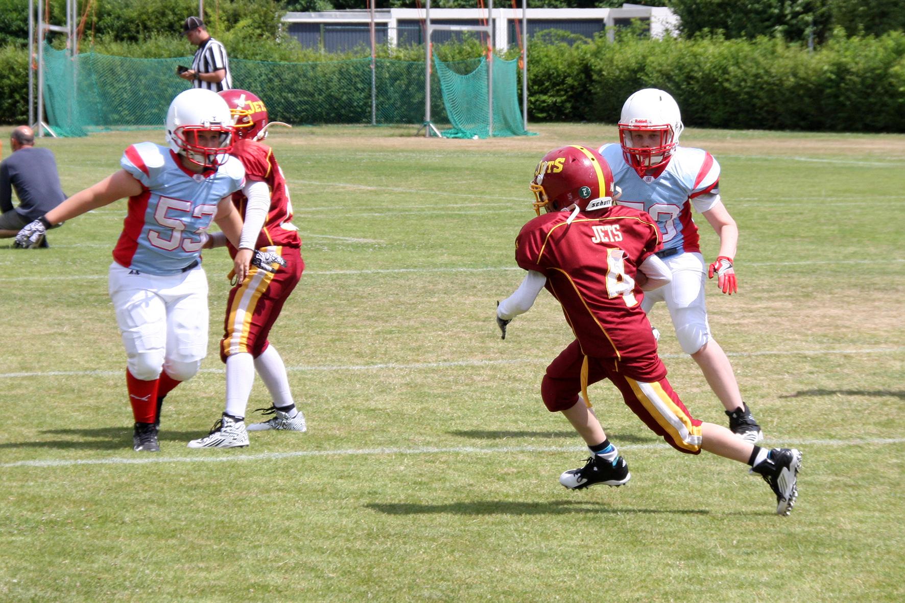 Troisdorf Jets: Jugendfootball & Cheerleading